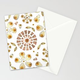Pressed Flowers Stationery Cards