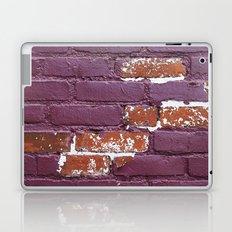 Purple Wall Laptop & iPad Skin