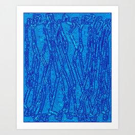 The Human Tribe #5 Royal Trusts Art Print