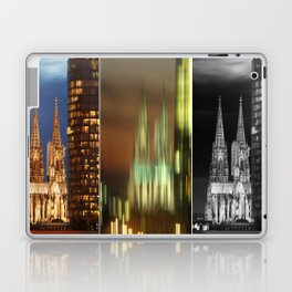 cologne cathedral Laptop & iPad Skin