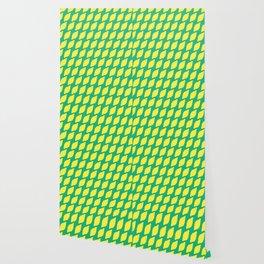 Sour Lemons Summer Pattern Wallpaper