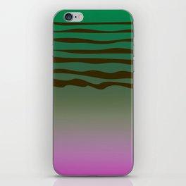 Bio green design Lines, exotico iPhone Skin