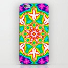 Rainbow Kaleidoscope iPhone Skin