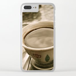 Ethiopian Coffee Clear iPhone Case