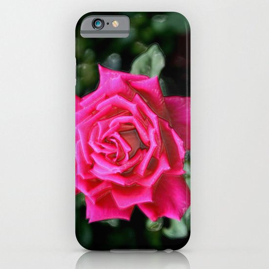 I AM THE QUEEN OF FLOWERS iPhone & iPod Case