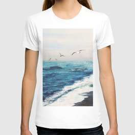 Watercolor Coast T-shirt