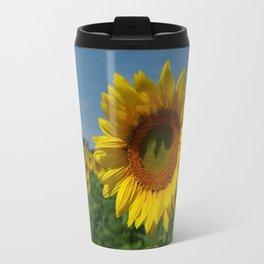 Sunflower soloist (with backup chorus!) Travel Mug