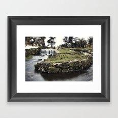 Converge & The Falls Framed Art Print