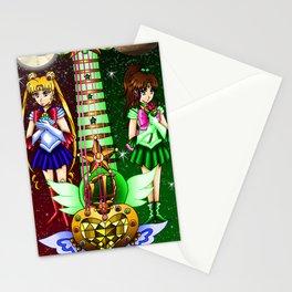 Fusion Sailor Moon Guitar #5 - Sailor Moon & Sailor Jupiter Stationery Cards