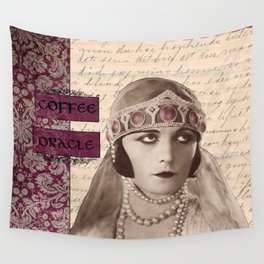 Coffee Oracle Wall Tapestry