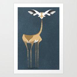 Gerenuk Art Print