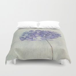 Beautiful Blue Hydrangea Duvet Cover