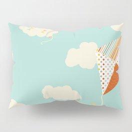 Let's go Fly a Kite Pillow Sham