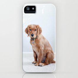 Dog by Maddy Baker iPhone Case