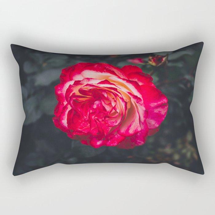 Night Rose 2 Rectangular Pillow