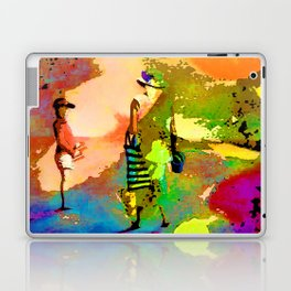 jardin multicolore Laptop & iPad Skin