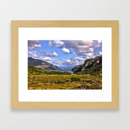 Loch Maree Framed Art Print