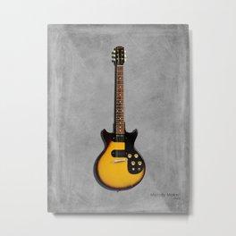 The Melody Maker Guitar Metal Print