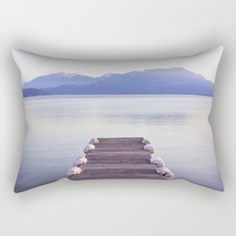 Lake Annecy, France Rectangular Pillow