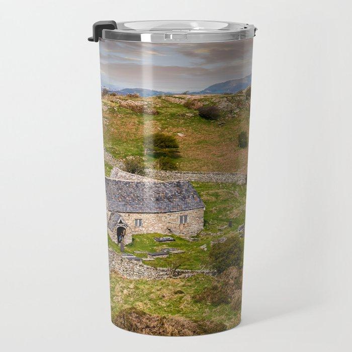 St Celynnin Church Wales Travel Mug