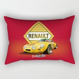 ROJO · Renault Alpine Rectangular Pillow
