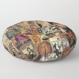 Rock n' Roll Stories revisited Floor Pillow