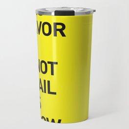 Save the planet. Travel Mug