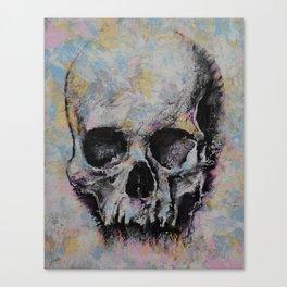 Medieval Skull Canvas Print