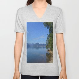 Marmaris from Netsel Marina Unisex V-Neck