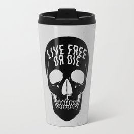 Live Free or Die Travel Mug