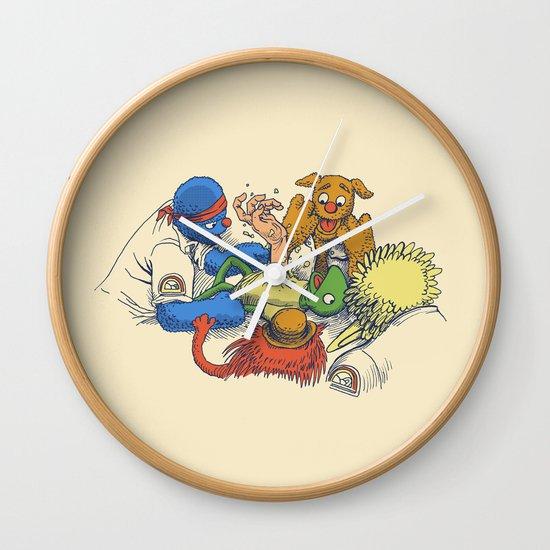 Open Sesame Wall Clock