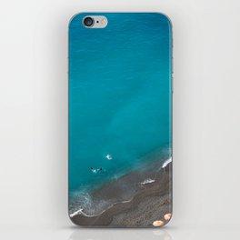 Positano Beach Umbrellas iPhone Skin