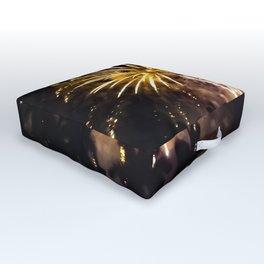 Set the Sky on Fire Outdoor Floor Cushion