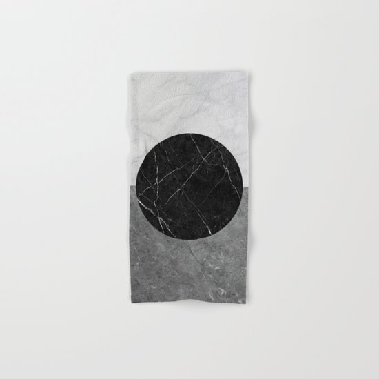 Marble Abstract Hand & Bath Towel
