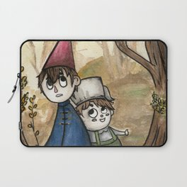 Over the Garden Wall Watercolor Painting Laptop Sleeve