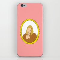 tenenbaum iPhone & iPod Skins featuring Margot Tenenbaum by Whiteland