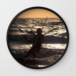 Kitesurfing at Arambol Wall Clock