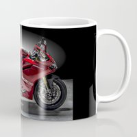 ducati Mugs featuring Ducati 1199 Panigale R by Elias Silva Photography