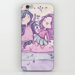 Friendship iPhone Skin