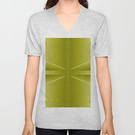 Today's colorplay with gold ... Unisex V-Neck