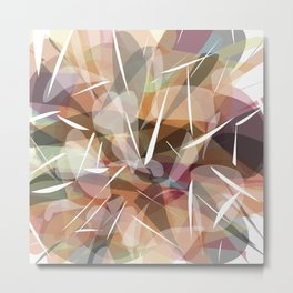 Abstract graphic design Metal Print