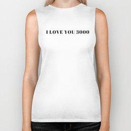 Endgame: I Love You 3000 Biker Tank