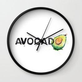 Favourite Things - Avocado Wall Clock