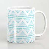 anchors Mugs featuring anchors by taylor st. claire