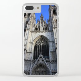 Brussels III Clear iPhone Case