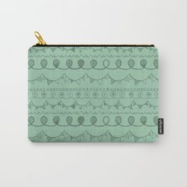 Green Loops Carry-All Pouch