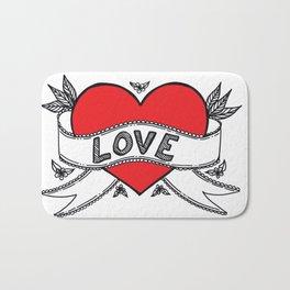 Declare your love! Bath Mat