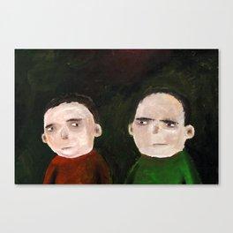 Suspicion Canvas Print