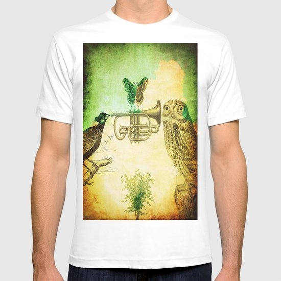Music of birds T-shirt
