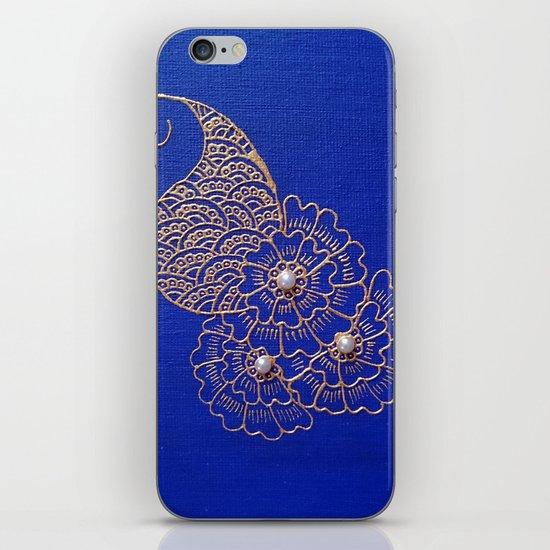 Blue Pearl iPhone & iPod Skin